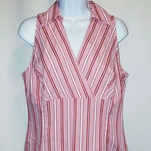 Ann Taylor Loft Stretch Sleeveless Blouse Size 12